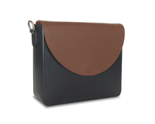 NemoRectangular-Body-Black-BandalHalf-moon-Flap-Brown