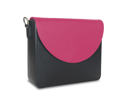 NemoRectangular-Body-Black-BandalHalf-moon-Flap-HotPink