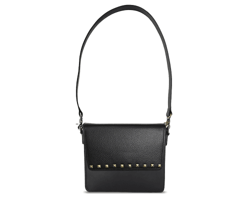NemoRectangular-Body-Black-NemoRectangular-Flap-BlackStud-Shoulder-Strap-BlackStud