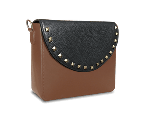 NemoRectangular-Body-Brown-BandalHalf-moon-Flap-BlackStud