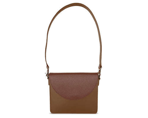 NemoRectangular-Body-Brown-BandalHalf-moon-Flap-Brown-Shoulder-Strap-Brown