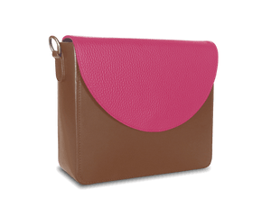 NemoRectangular-Body-Brown-BandalHalf-moon-Flap-HotPink