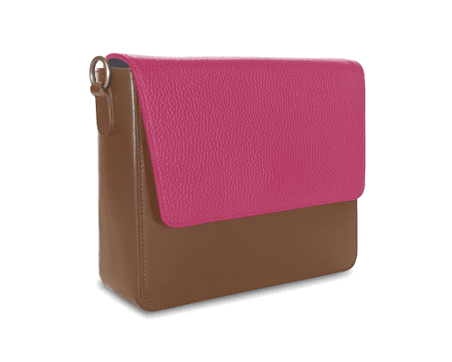 NemoRectangular-Body-Brown-NemoRectangular-Flap-HotPink