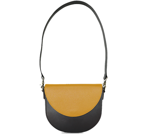 BandalHalf-moon-Body-Black-BandalHalf-moon-Flap-Yellow-Shoulder-Strap-BlackStud