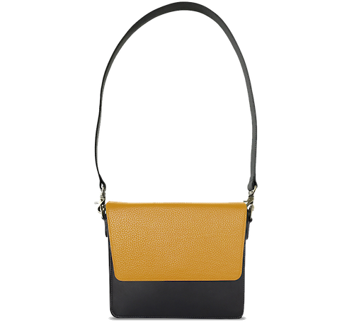 NemoRectangular-Body-Black-NemoRectangular-Flap-Yellow-Shoulder-Strap-Black