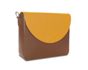 NemoRectangular-Body-Brown-BandalHalf-moon-Flap-Yellow