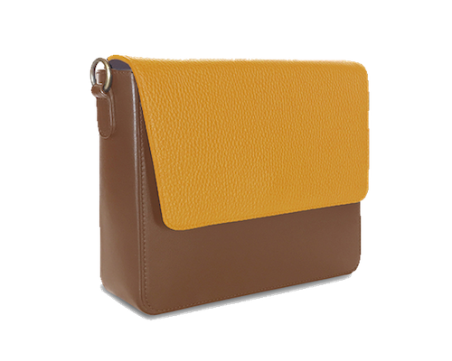 NemoRectangular-Body-Brown-NemoRectangular-Flap-Yellow