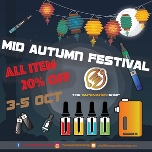Mid Autumn Festival Sale 20% off on all items!
