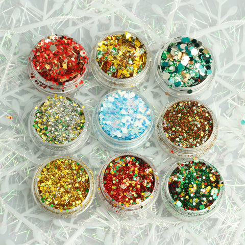 Christmas Chunky Glitter Mixes