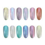 Gel Polish Unicorn Shimmer Colours
