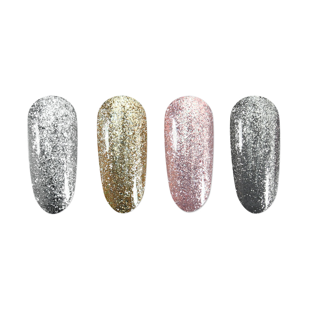 Gel Polish Foily Glitter Colours