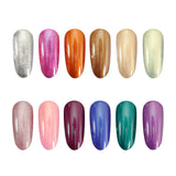 Gel Polish Pearl Shimmer Colours