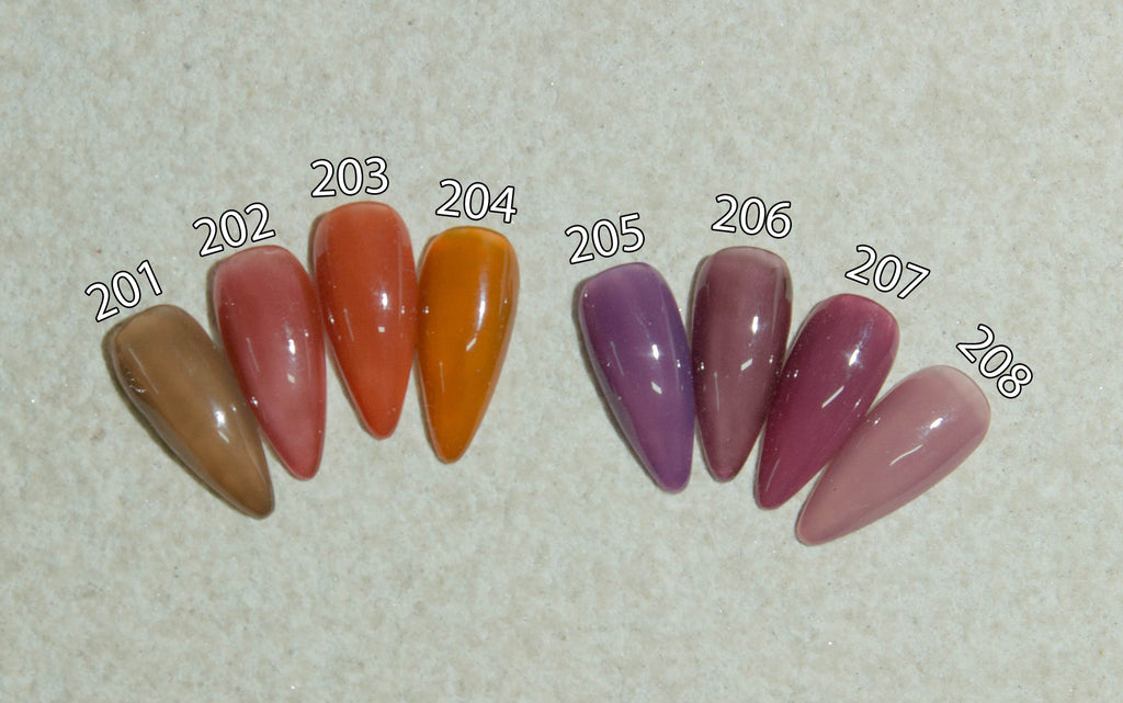 Autumn Winter Jelly Gel 201-208