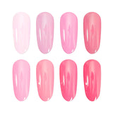 Gel Polish Pink Colours