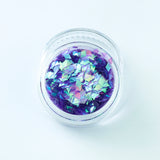 Iridescent Lilac Diamond Shape Face Glitter Size 1mm - 3mm