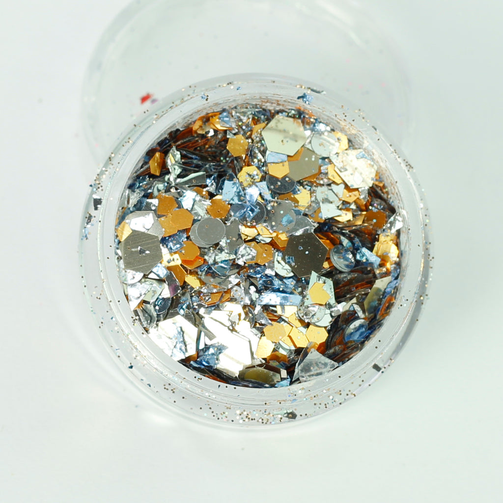 Junk Yard Super Chunky Cosmetic Glitter Mix