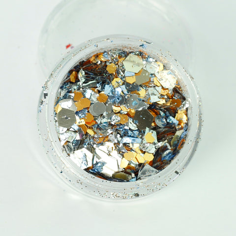 """Junk Yard"" Super Chunky Cosmetic Glitter Mix in 5g Pot"