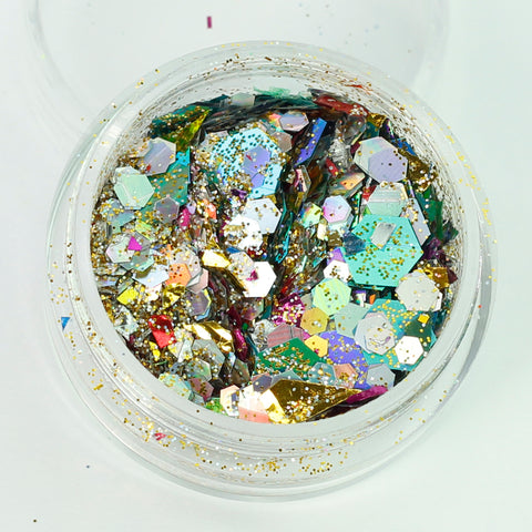 """Valley Of The Kings"" Super Chunky Cosmetic Glitter Mix in 5g Pot"