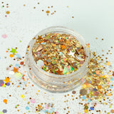 Gypsy Gold Super Chunky Cosmetic Glitter Mix