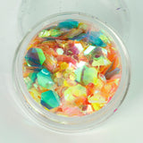 Caribbean Crush Super Chunky Cosmetic Glitter Mix