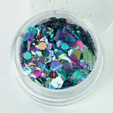 Maleficent Super Chunky Cosmetic Glitter Mix