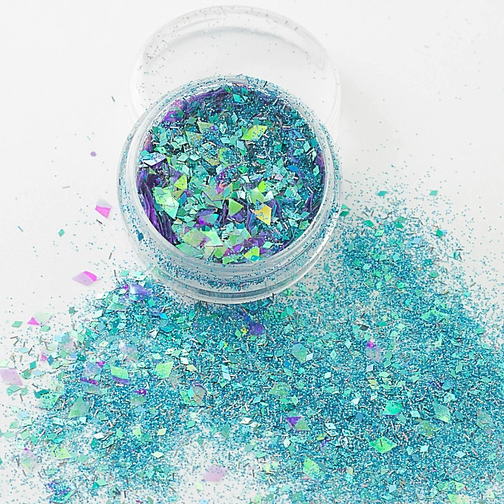 """Cote D'Azur"" Chunky Cosmetic Glitter Mix"