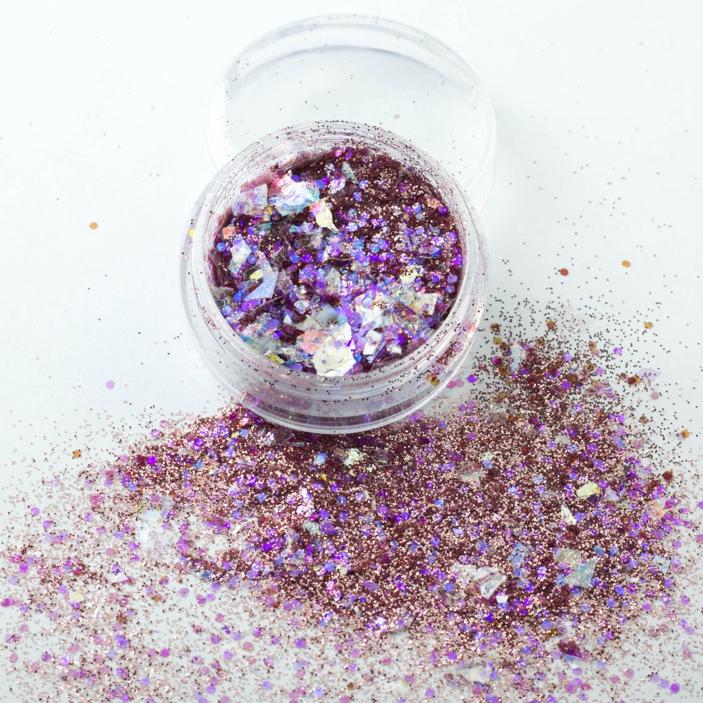 evol show stopper a heady mix of pin and purple glitter