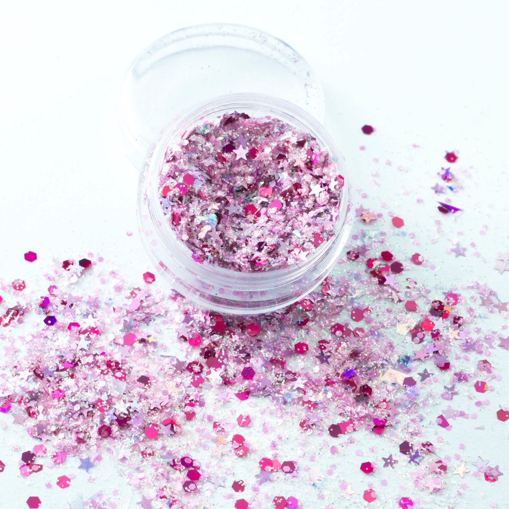 """Forever Yours"" Chunky Cosmetic Glitter Mix"