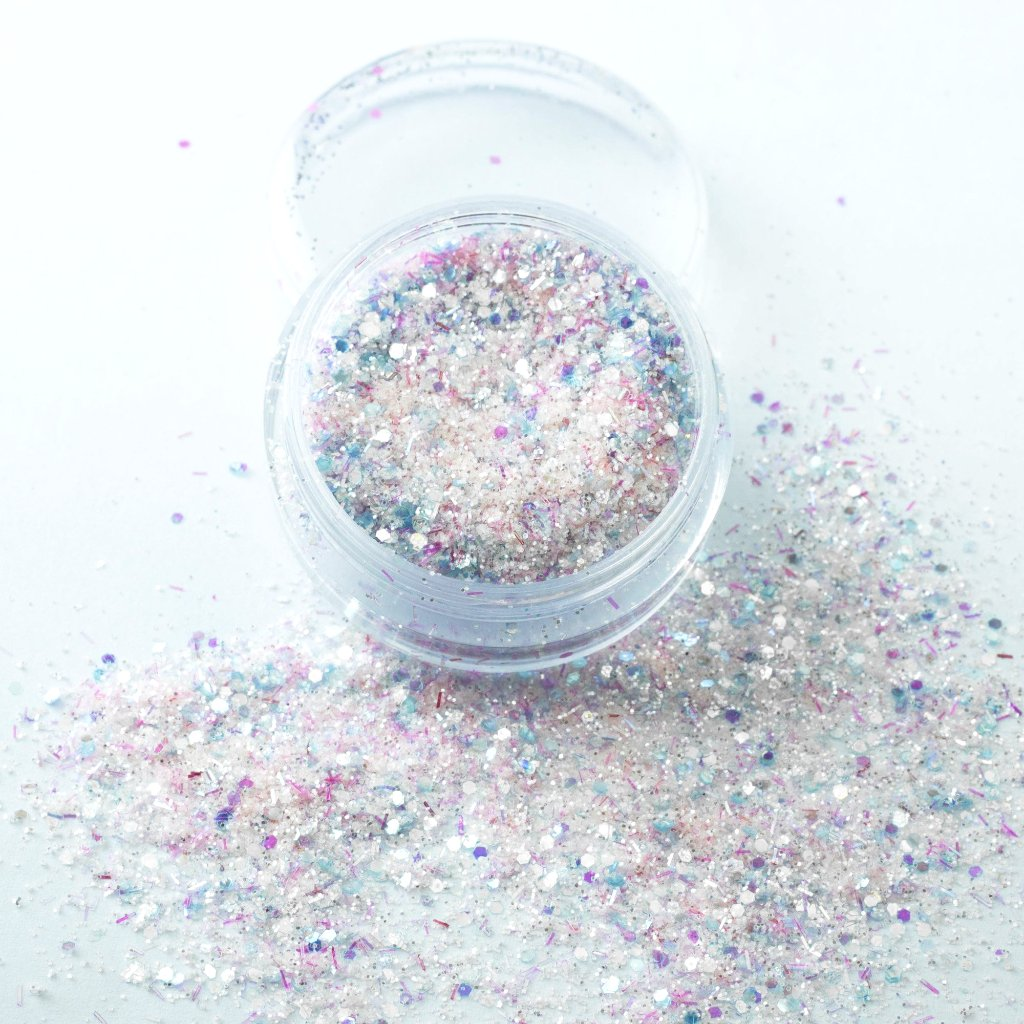 """Cloud 9"" Chunky Cosmetic Glitter Mix"