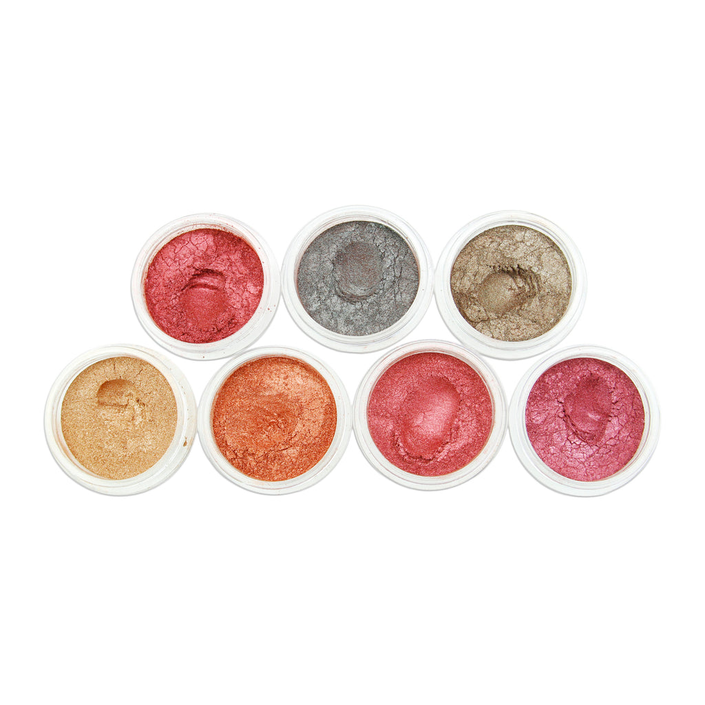 Evol PRO SFX eyeshadow pigment pots HOT METALS