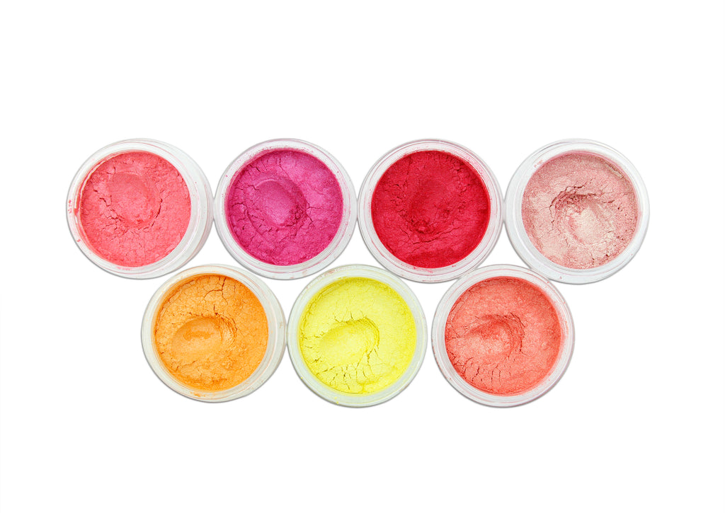 evol summer loving pro sfx eyeshadow pigments