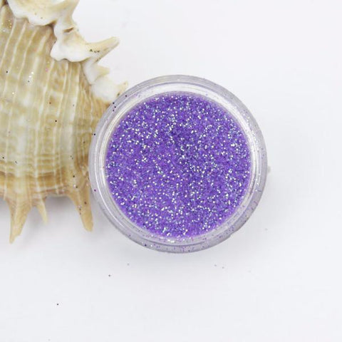 evol iridescent purple dust face glitter