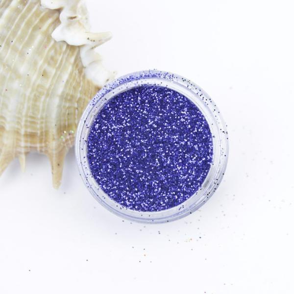 """Metallic Midnight Blue"" Fine Dust Cosmetic Glitter 2g Pot"
