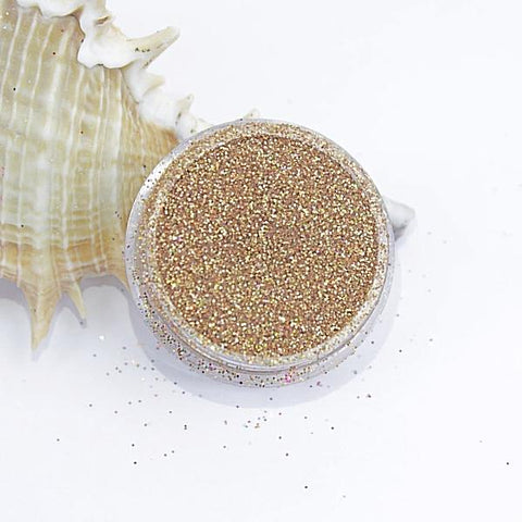 evol champagne gold ore holographic dust face glitter