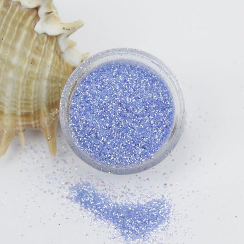evol ocean blue translucent iridescent dust face glitter pot sparkle