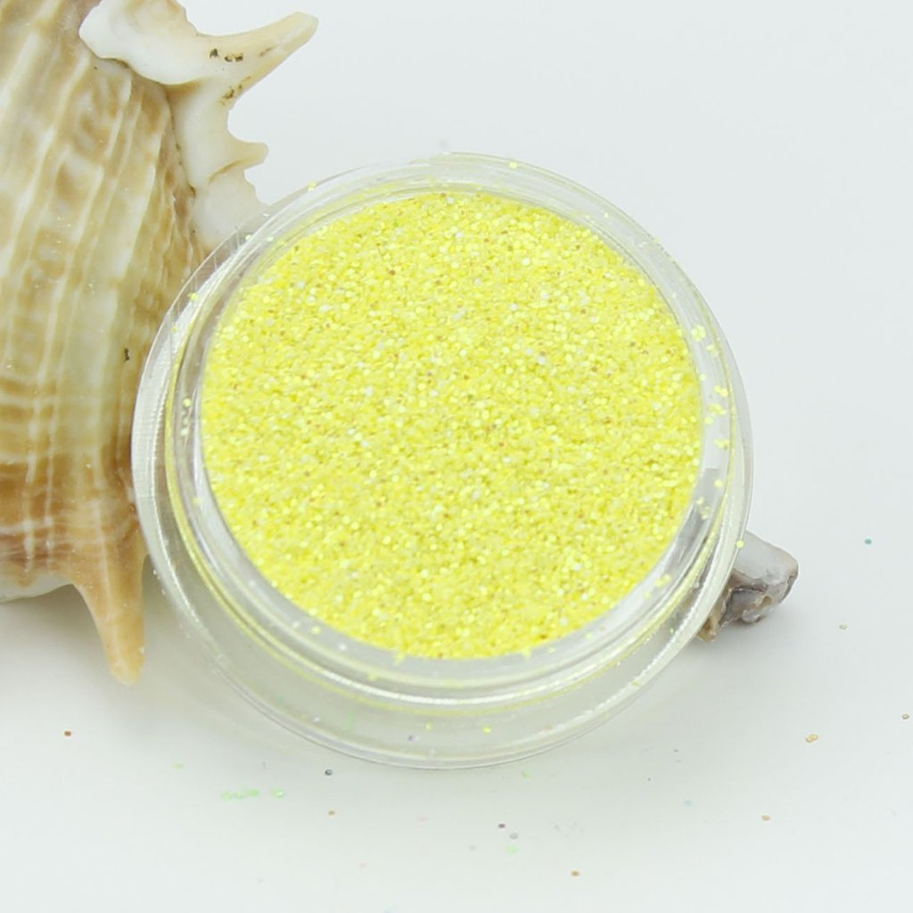 """Egg Yolk"" Opaque Iridescent Fine Dust Cosmetic Glitter 2g Pot"