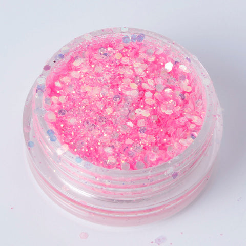 """Bubblegum"" Fine Cosmetic Glitter Mix"