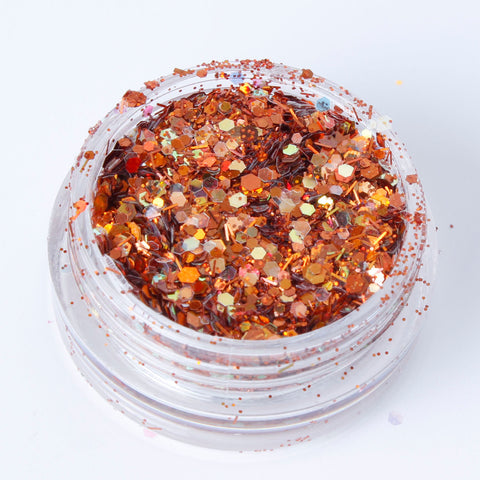 """Autumn"" Fine Cosmetic Glitter Mix"