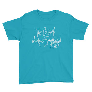 Kids The Gospel Changes Everything Tee