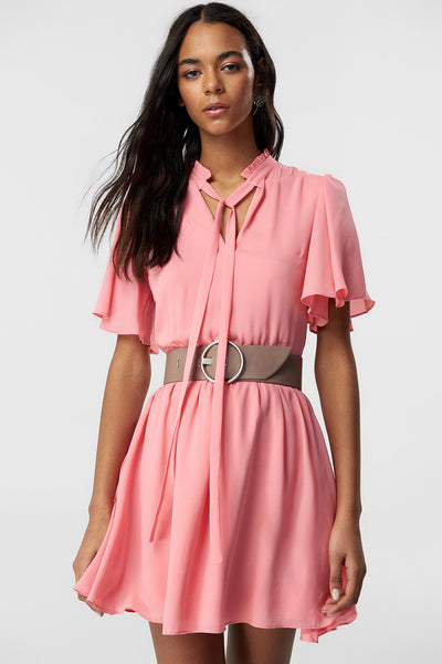 Pink Closet Binding Dress
