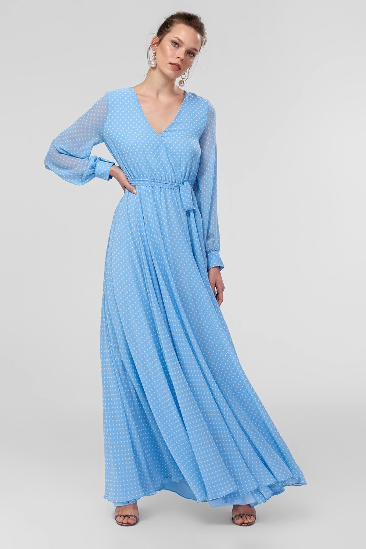 Blue Scalable Dress