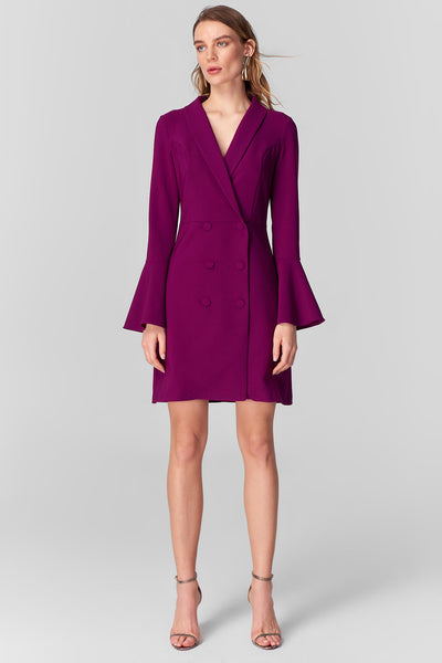Purple Jacket Dress