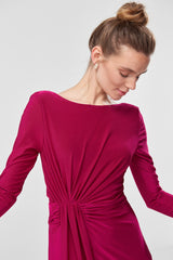 Fushia Long Detail Dress