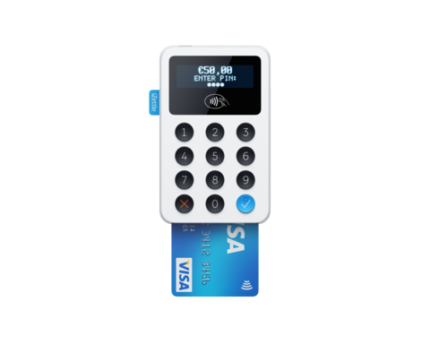 iZettle card payment cashless point of sale