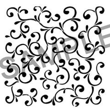 Sample of SweetAmbs filigree template