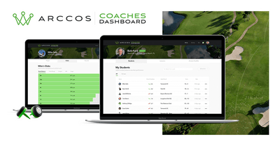 Arccos Golf Launches Arccos Coaches Dashboard, Providing Instructors with  Seamless Access to Students' On-Course Performance Data