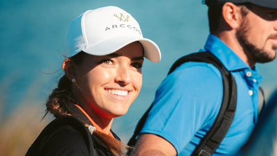 On-Course with Pro Golfer Luiza Altmann & Arccos