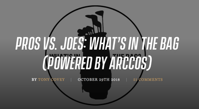 Pros vs. Joes: What's In The Bag?