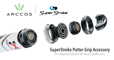 Arccos and SuperStroke Partner to Launch Putter Grip Accessory