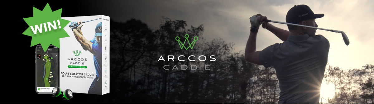 Golf Monthly x Arccos Competition for 5x sets of Arccos Caddie Smart Sensors